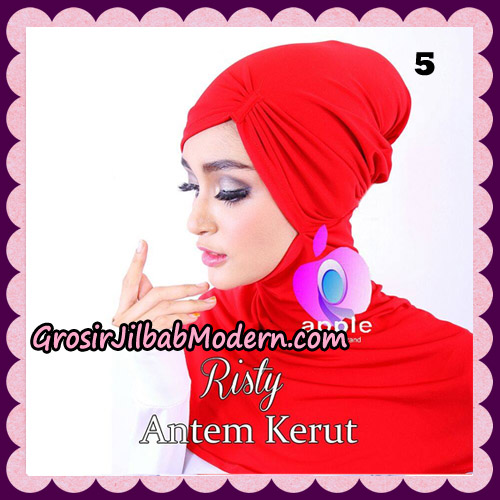 Inner Ninja Risty Antem Kerut Original By Apple Hijab Brand No 5