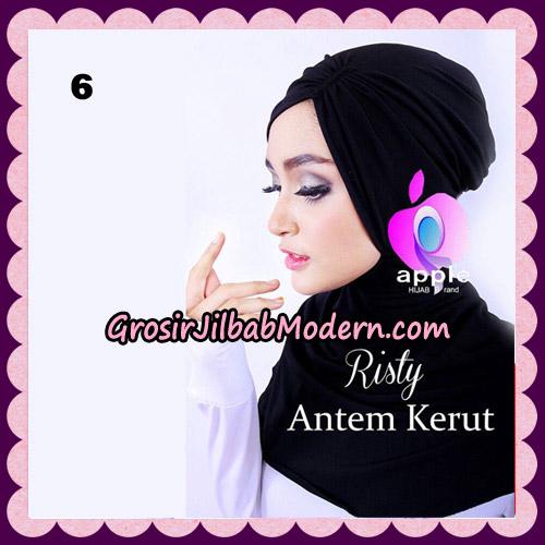 Inner Ninja Risty Antem Kerut Original By Apple Hijab Brand No 6