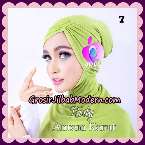 Inner Ninja Risty Antem Kerut Original By Apple Hijab Brand No 7