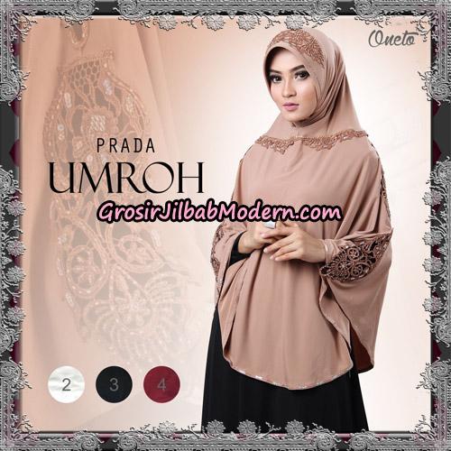 Jilbab Bergo Instant Cantik Prada Umroh Support Oneto Hijab