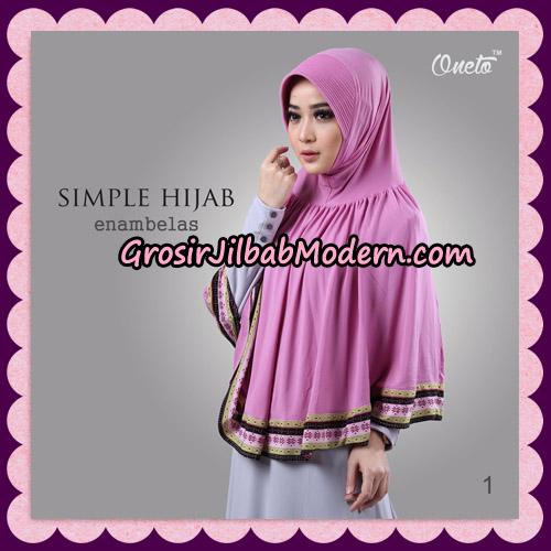 Jilbab Bergo Instant Simple Hijab Seri 16 By Firza Hijab Support Oneto No 1