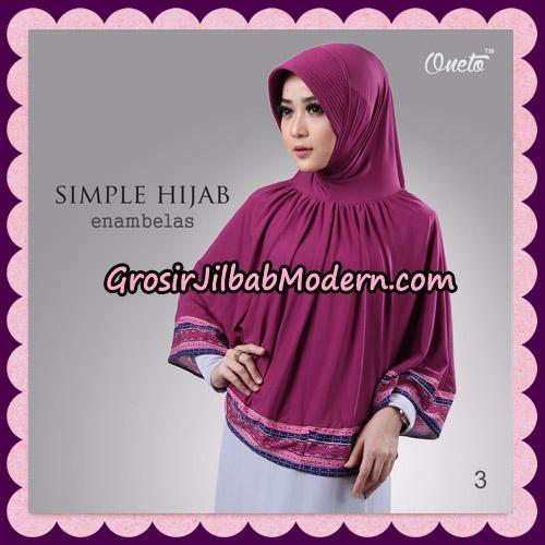 Jilbab Bergo Instant Simple Hijab Seri 16 By Firza Hijab Support Oneto No 3