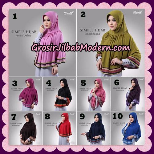 Jilbab Bergo Instant Simple Hijab Seri 16 By Firza Hijab Support Oneto