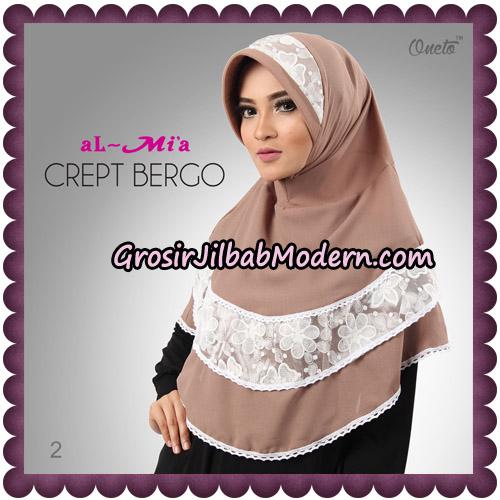 Jilbab Crept Bergo Cantik Original By Almia Brand No 2