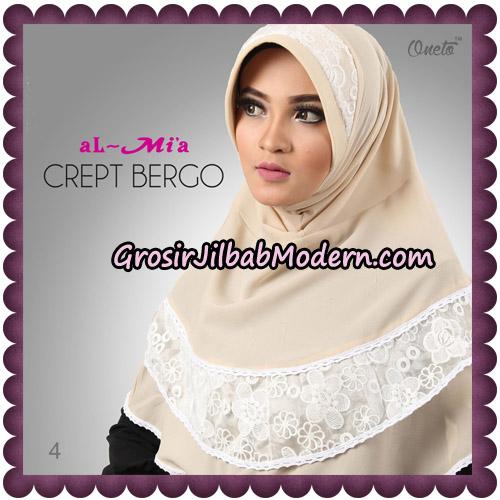 Jilbab Crept Bergo Cantik Original By Almia Brand No 4