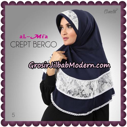 Jilbab Crept Bergo Cantik Original By Almia Brand No 5