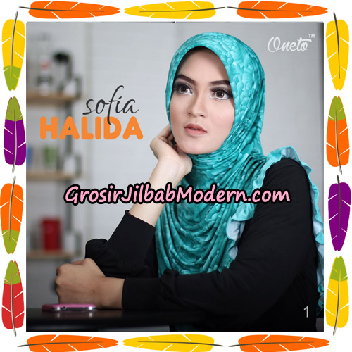 Jilbab Harian Sofia Halida Original By Oneto Hijab Brand No 1