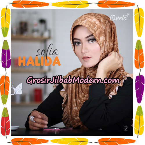 Jilbab Harian Sofia Halida Original By Oneto Hijab Brand No 2