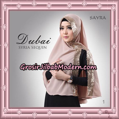 Jilbab Instant Syria Dubai Sequin Original By Sayra Hijab Brand No 1