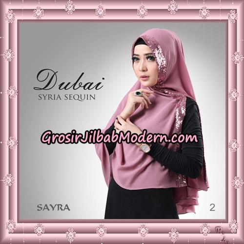 Jilbab Instant Syria Dubai Sequin Original By Sayra Hijab Brand No 2