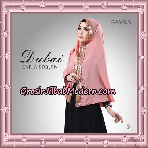 Jilbab Instant Syria Dubai Sequin Original By Sayra Hijab Brand No 3