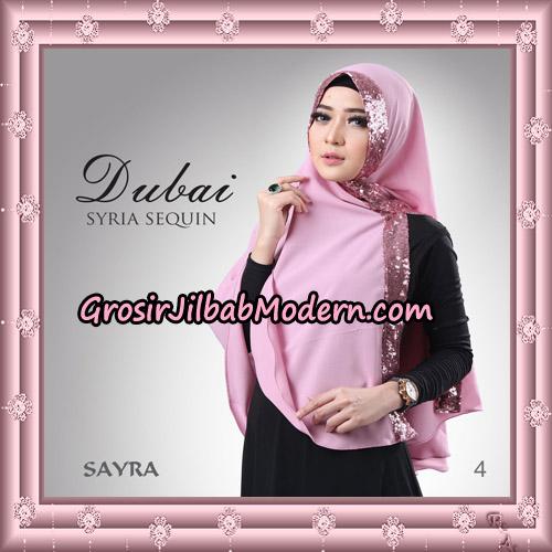 Jilbab Instant Syria Dubai Sequin Original By Sayra Hijab Brand No 4