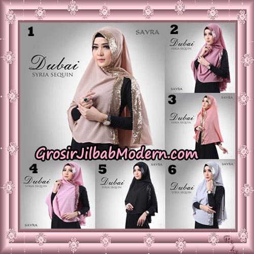 Jilbab Instant Syria Dubai Sequin Original By Sayra Hijab Brand