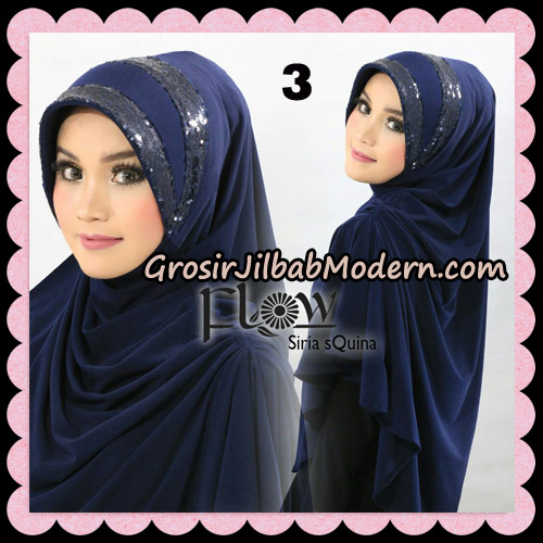 Jilbab Instant Syria Pet Syari sQuina Original By Flow Idea No 3