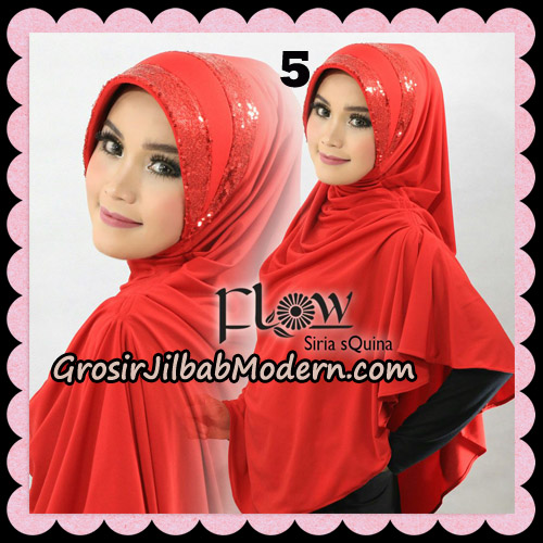 Jilbab Instant Syria Pet Syari sQuina Original By Flow Idea No 5