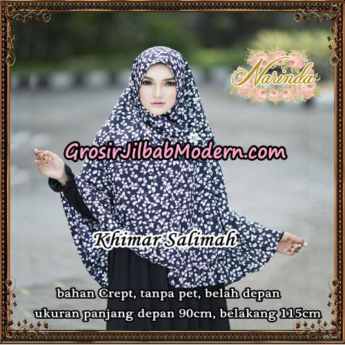 Jilbab Khimar Salimah Original By Narinda Hijab Brand - Detail