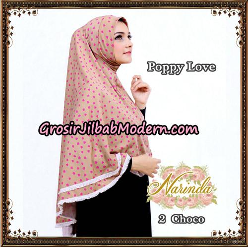Jilbab Long Syria Poppy Love Original By Narinda Hijab No 2