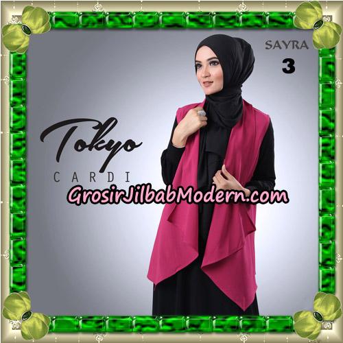Cardigan Tokyo Cardi Cantik Original By Sayra Hijab Brand No 3