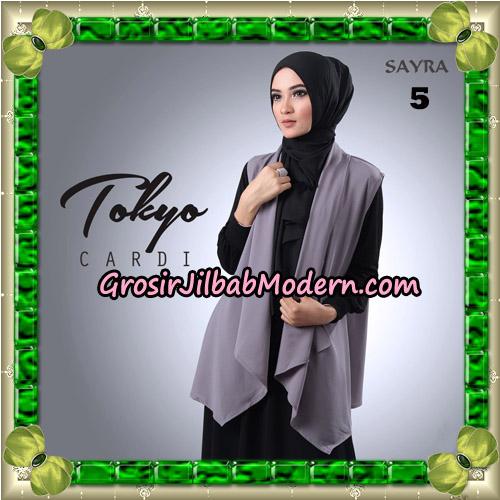 Cardigan Tokyo Cardi Cantik Original By Sayra Hijab Brand No 5