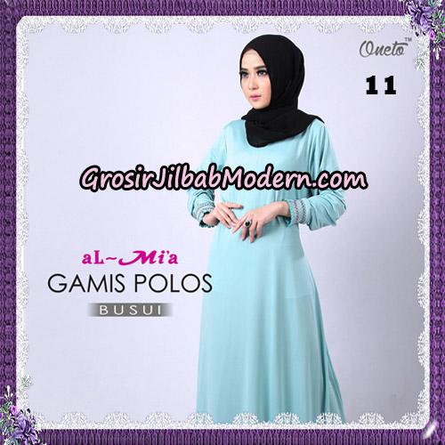 Gamis Polos Busui Cantik Original By Almia Brand No 11