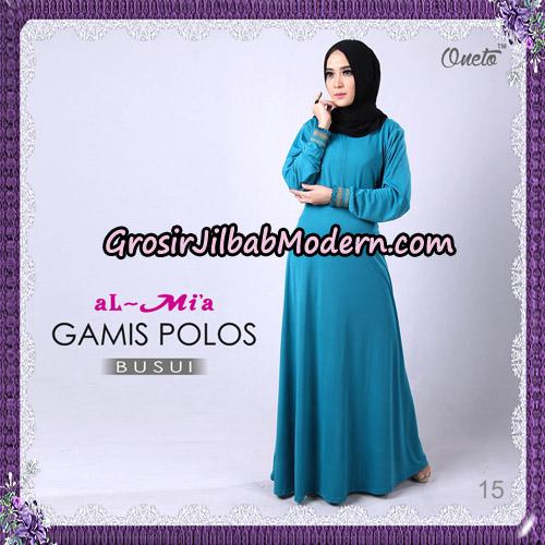 Gamis Polos Busui Cantik Original By Almia Brand No 15