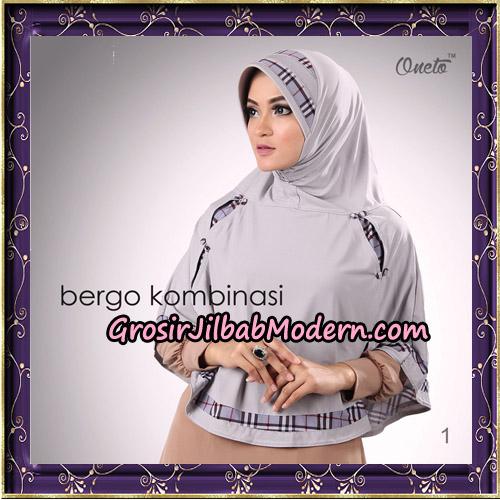 Hijab Bergo Kombinasi Original By Oneto Hijab Brand No 1