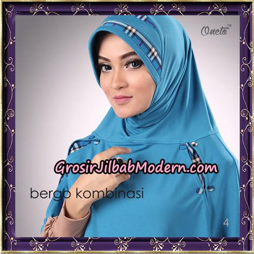 Hijab Bergo Kombinasi Original By Oneto Hijab Brand No 4