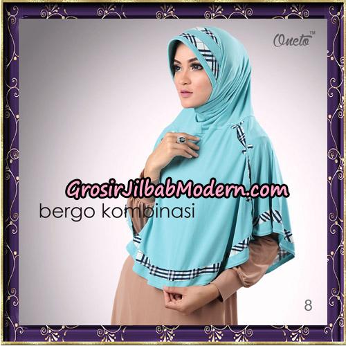 Hijab Bergo Kombinasi Original By Oneto Hijab Brand No 8
