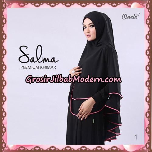 Hijab Syari Khimar Salma Premium Original By Rizky Ananda No 1