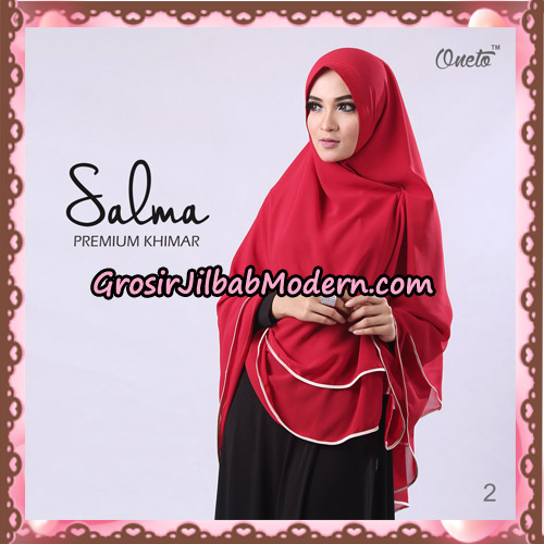 Hijab Syari Khimar Salma Premium Original By Rizky Ananda No 2