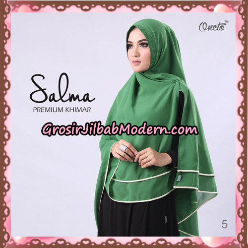 Hijab Syari Khimar Salma Premium Original By Rizky Ananda No 5