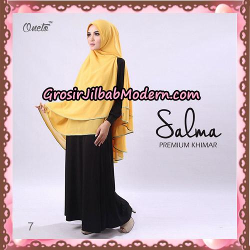 Hijab Syari Khimar Salma Premium Original By Rizky Ananda No 7