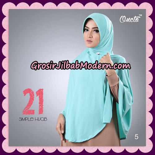 Jilbab Instant Bergo Simple Hijab Seri 21 By Firza Hijab Support Oneto No 5