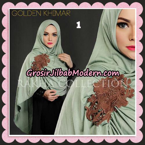 Jilbab Instant Golden Khimar Original By Rakha Hijab Brand No 1