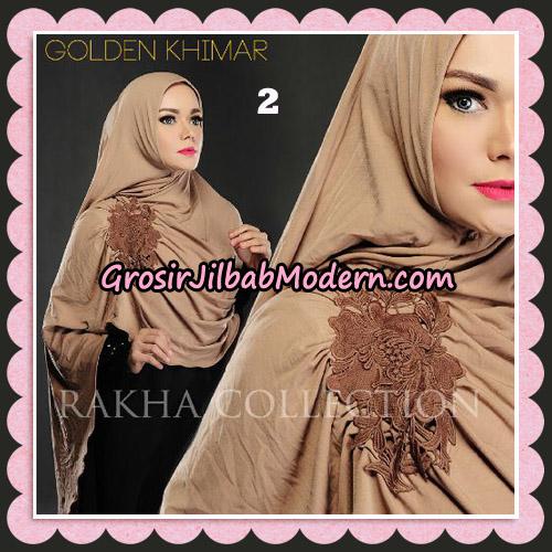 Jilbab Instant Golden Khimar Original By Rakha Hijab Brand No 2