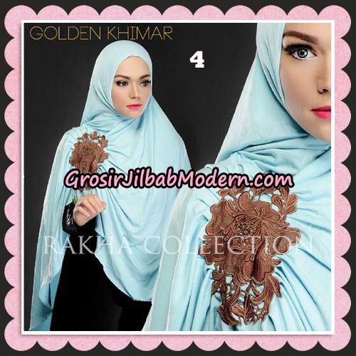 Jilbab Instant Golden Khimar Original By Rakha Hijab Brand No 4
