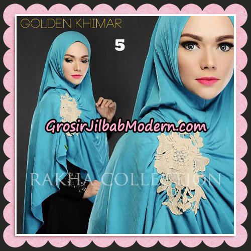 Jilbab Instant Golden Khimar Original By Rakha Hijab Brand No 5
