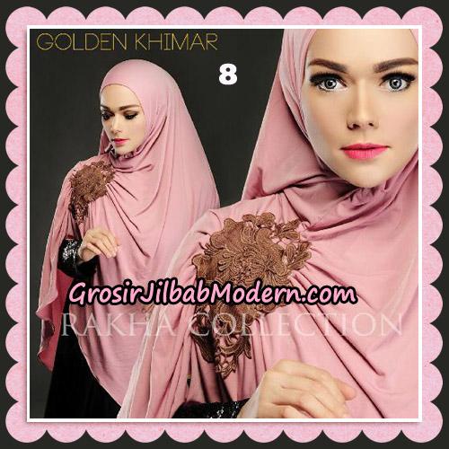 Jilbab Instant Golden Khimar Original By Rakha Hijab Brand No 8