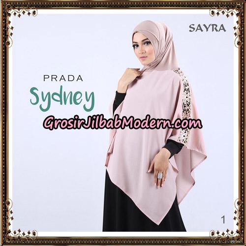 Jilbab Instant Prada Sydney Original By Sayra Hijab Brand No 1