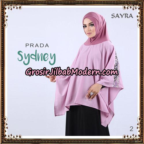 Jilbab Instant Prada Sydney Original By Sayra Hijab Brand No 2