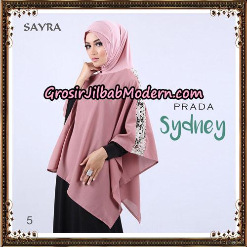 Jilbab Instant Prada Sydney Original By Sayra Hijab Brand No 5