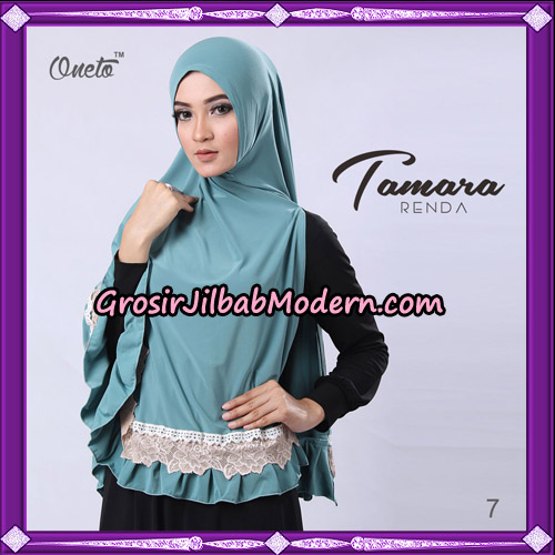 Jilbab Khimar Syari Tamara Renda Support Oneto Hijab No 7