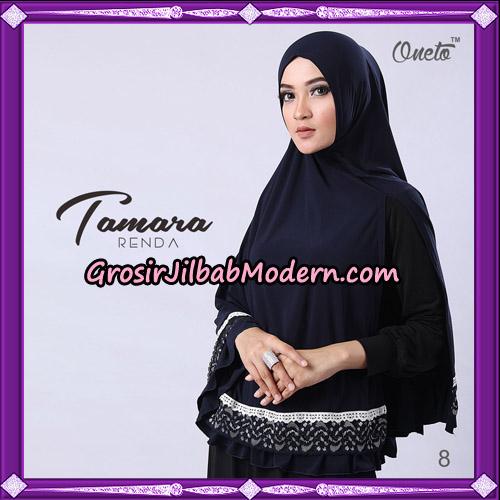 Jilbab Khimar Syari Tamara Renda Support Oneto Hijab No 8