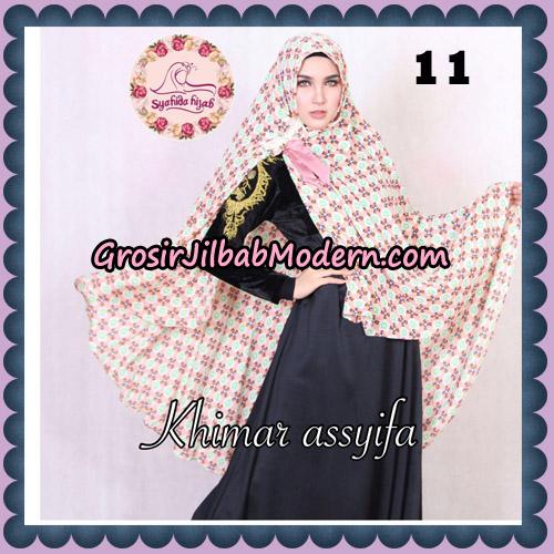 Jilbab Syari Khimar Assyifa Original By Syahida Brand No 11