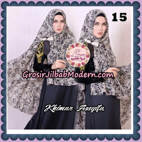 Jilbab Syari Khimar Assyifa Original By Syahida Brand No 15