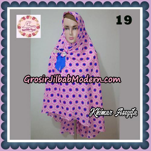 Jilbab Syari Khimar Assyifa Original By Syahida Brand No 19