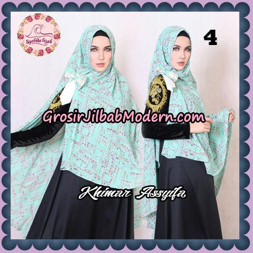Jilbab Syari Khimar Assyifa Original By Syahida Brand No 4