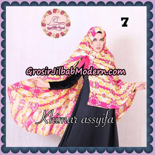 Jilbab Syari Khimar Assyifa Original By Syahida Brand No 7