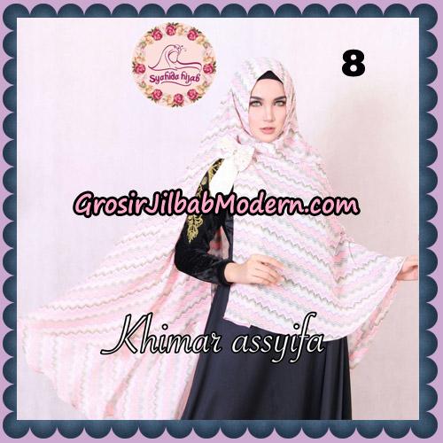 Jilbab Syari Khimar Assyifa Original By Syahida Brand No 8