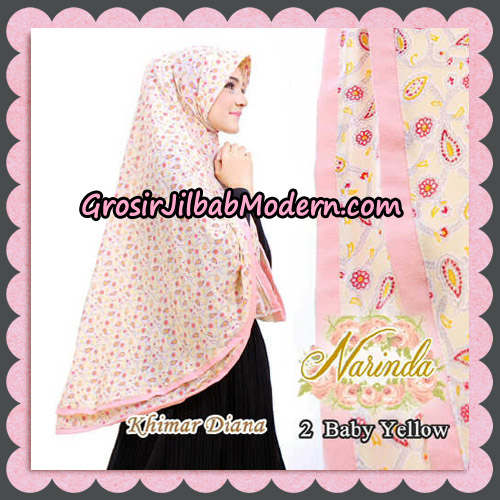 Jilbab Syari Khimar Diana Cantik Original By Narinda Hijab Brand No 2